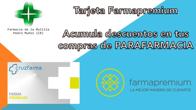 Diapo FARMAPREMIUM tarjeta fidelización
