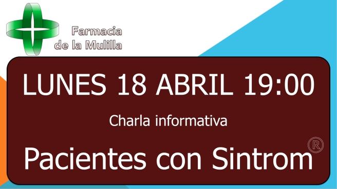 2016-04-18 Anuncio charla sintrom.001