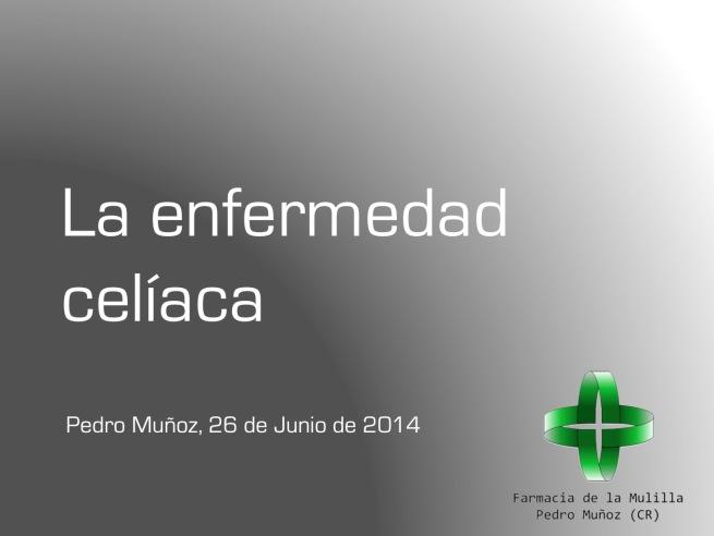 Mulilla Enfermedad celiaca Fondo oscuro