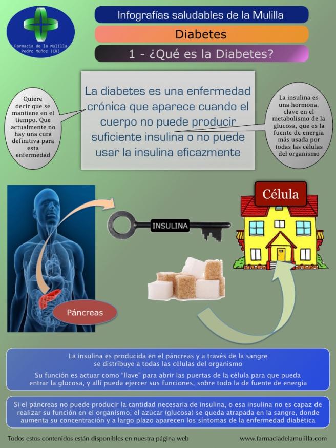 Infografia Diabetes 1 - Que es la diabetes