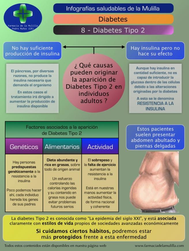Infografia Diabetes 8 - Diabetes Tipo 2