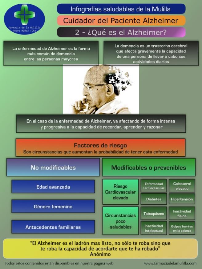 Infografia Alzheimer 2 - Que es el Alzheimer