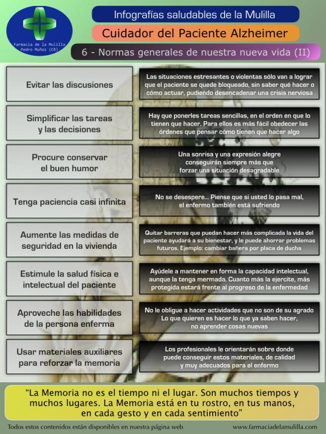 Infografia Alzheimer 6 - Normas generales de nuestra nueva vida (2)
