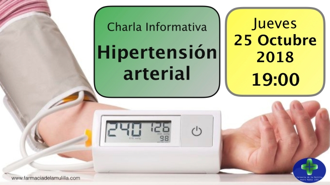 Invitacion Charla hipertensión video OCTUBRE