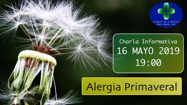 Anuncio Alergia Primaveral 16 Mayo