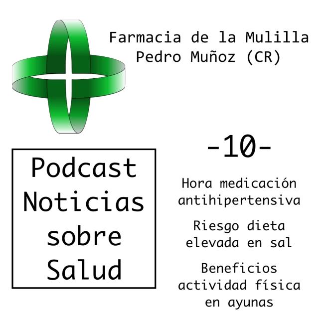 Caratula Podcast NOTICIAS 10