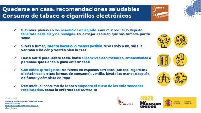 Ministerio Tabaco