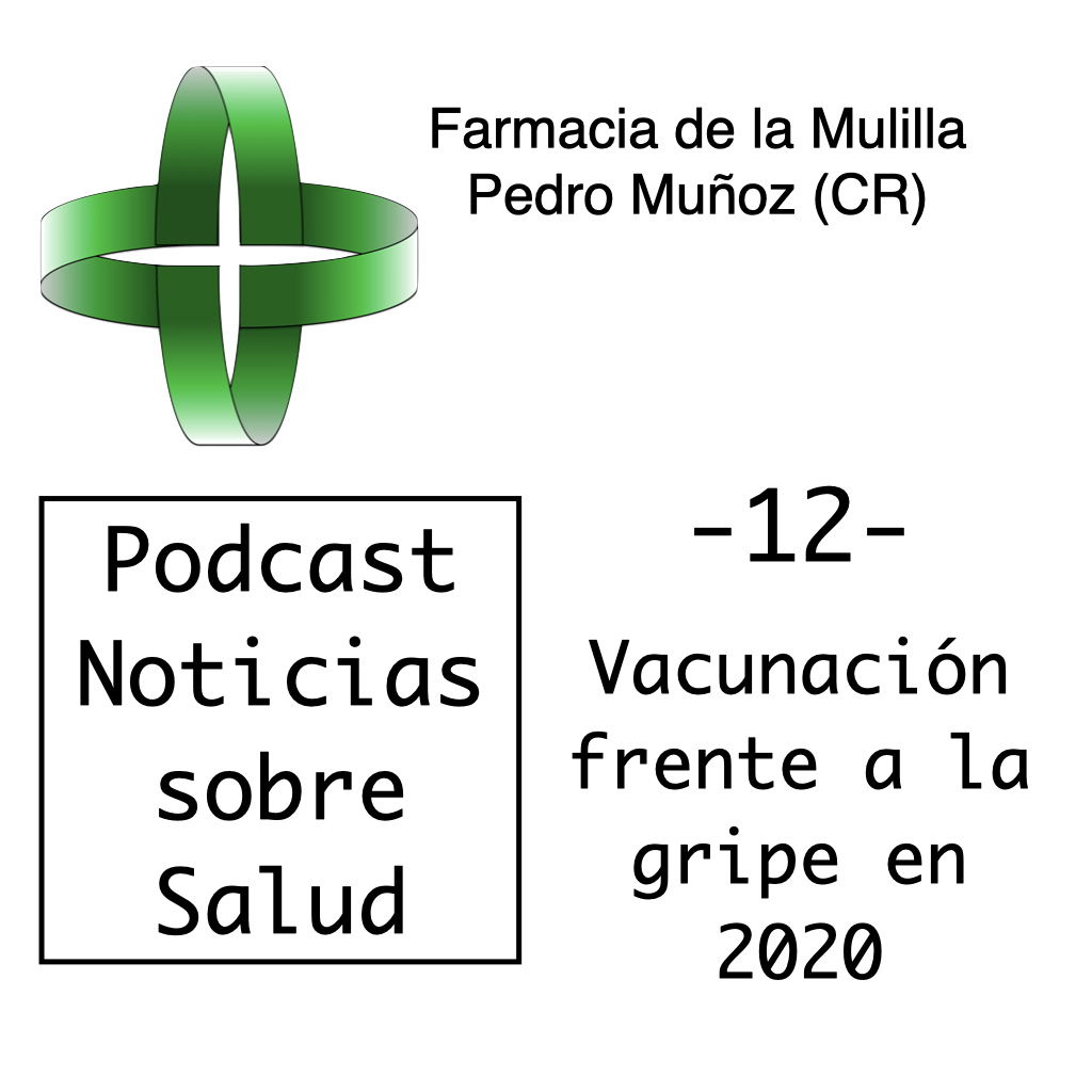 Caratulas Podcast NOTICIAS 12 - vacuna gripe
