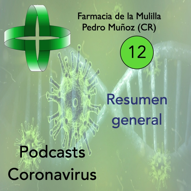 Caratula Podcast CORONAVIRUS 12 resumen