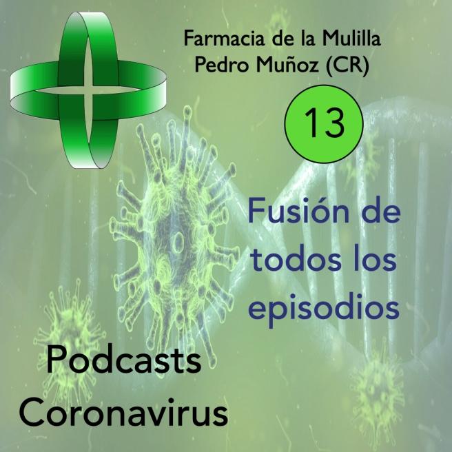 Caratula Podcast CORONAVIRUS 13